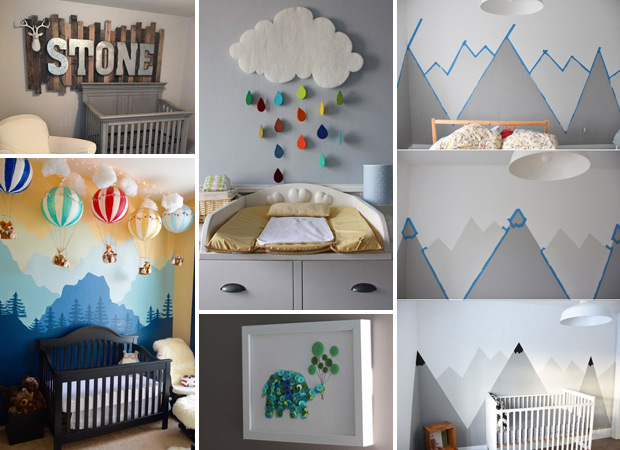17 Baby Nursery Decorating Ideas Worth Stealing - Proud Home Dec