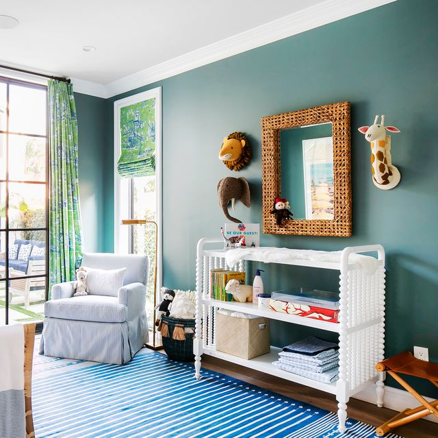 20 Cute Nursery Decorating Ideas - Baby Room Designs for Chic Paren