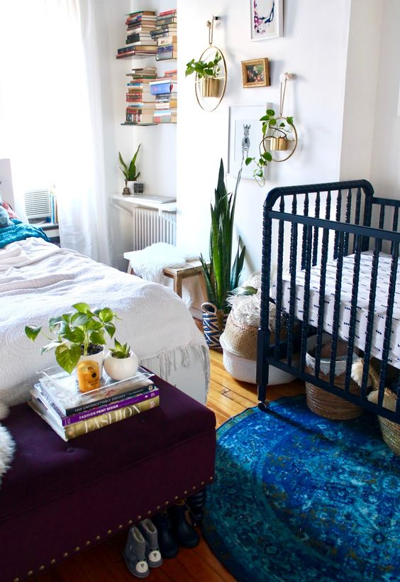 26 Ideas To Make A Nursery Work In A Master Bedroom - DigsDi