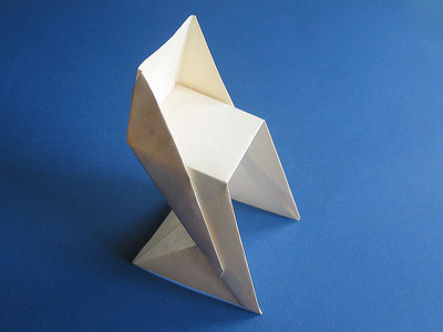Origami Chair Folding Instructions - How to Make an Origami Cha