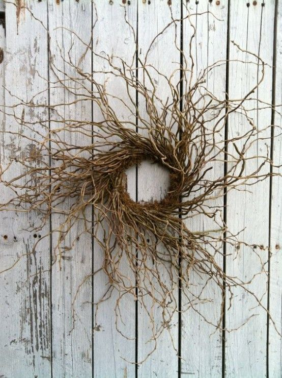 Original Fall Twig Wreaths With Various Elements (With images .