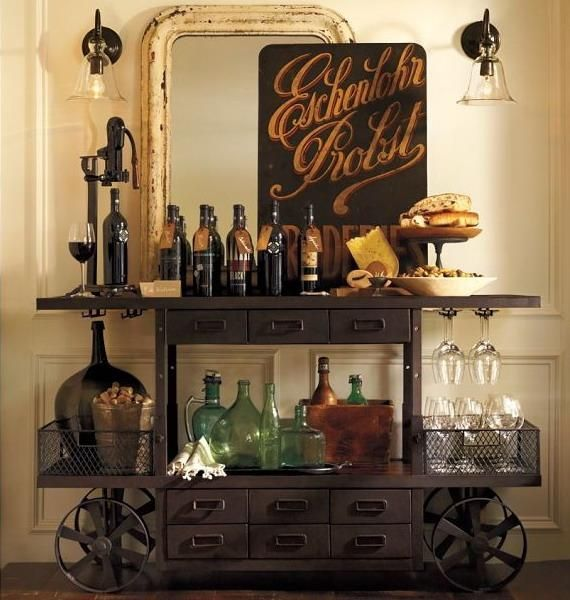 31 Original Home Bars And Cocktail Mixing Stations | DigsDigs .