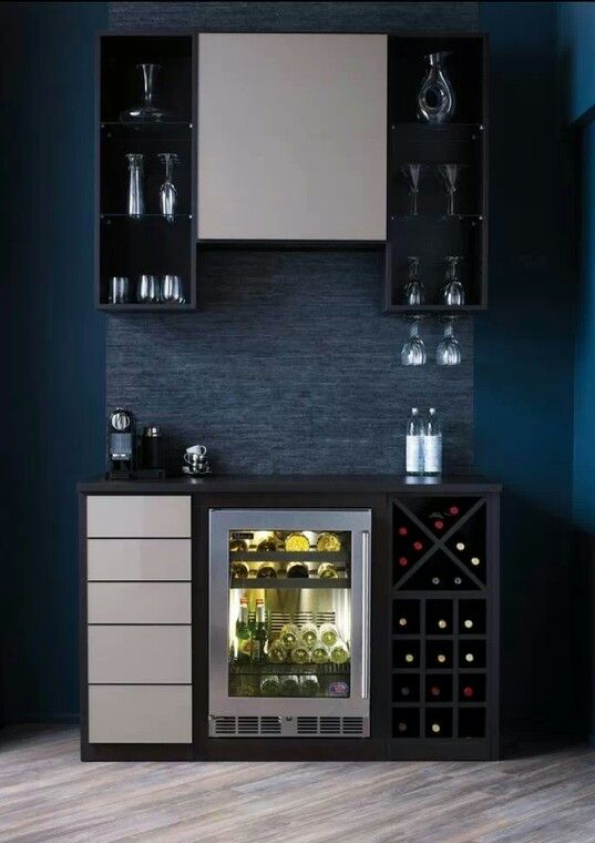 31 Original Home Bars And Cocktail Mixing Stations | Modern home .