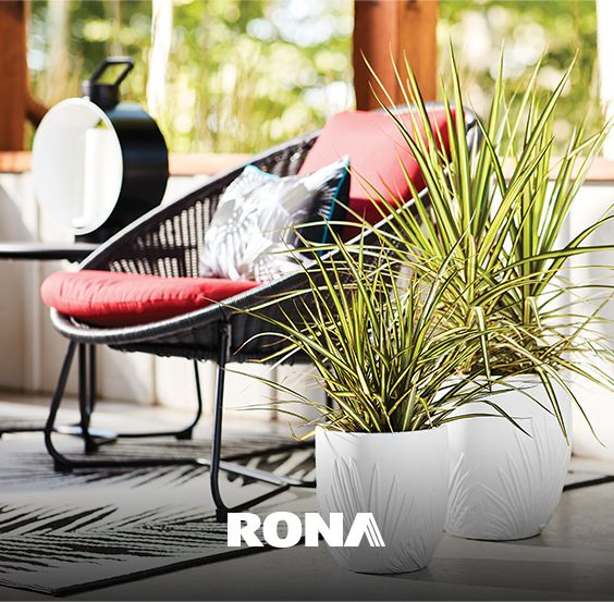 Déco terrasse 2020 | Outdoor Decor Trends in 2020 | Saucer chairs .