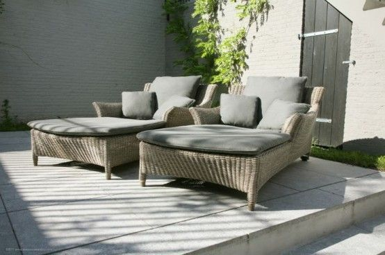 Cool Outdoor Lounge Chairs For Summer Napping | Lounge chair .