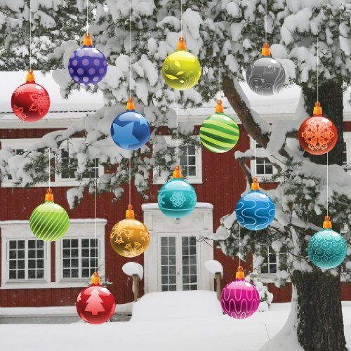 Learn how easy it is to make adorable oversized ornaments to add .