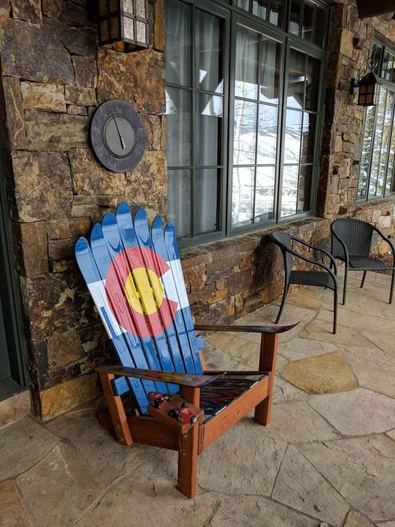 8 Painted Adirondack Chairs Ideas For 20