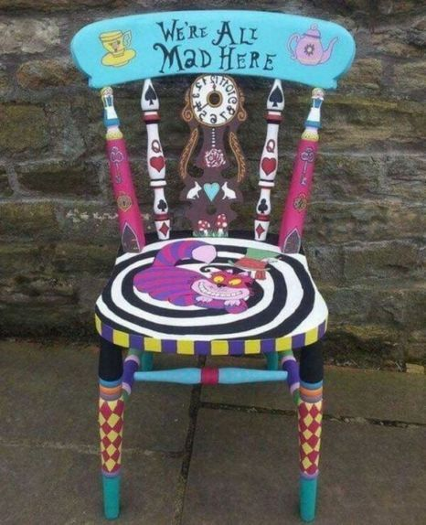 42 Outstanding Diy Painted Chair Designs Ideas To Try   Painted .