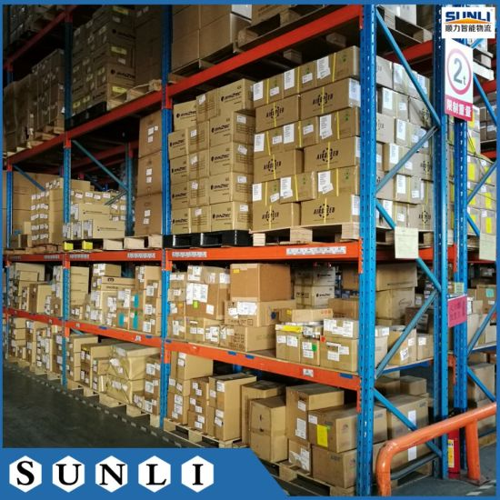 China 2.7X1m 1.5tons Euro Pallet Shelves Rack for Warehouse .