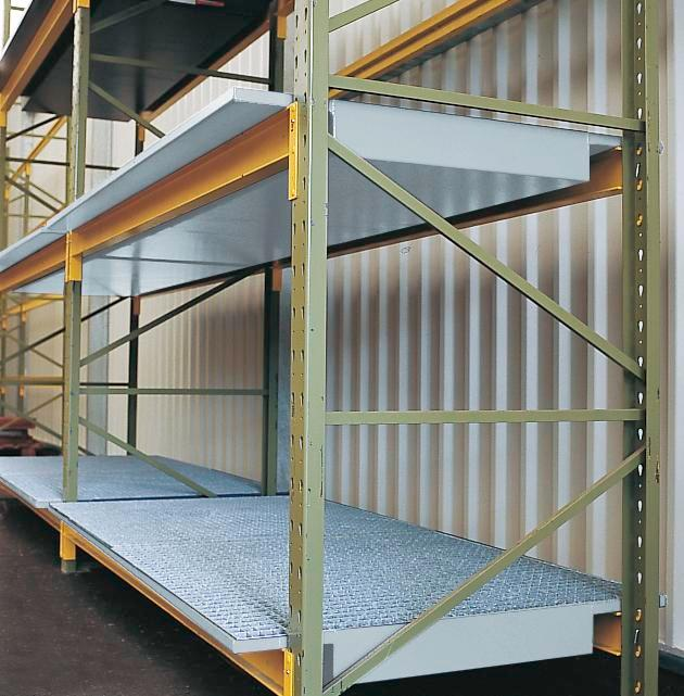 Sump Inserts for Pre-Existing Pallet Racks - 108 x