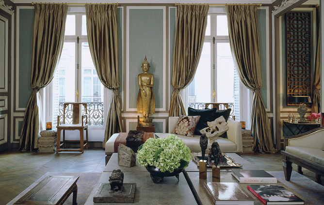 HOW TO CREATE A PARISIAN CHIC LOOK IN YOUR HOME — SARAH AKWISOM