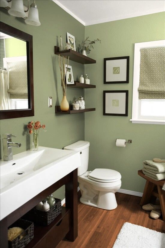 30 Wonderful Bathroom Color Ideas 2020 (You Need to Try in 2020 .