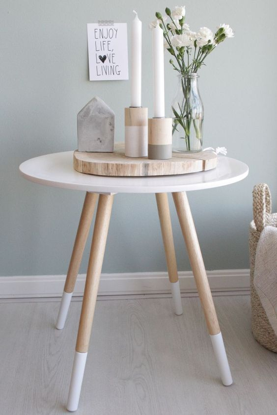 Peaceful Yet Lively Scandinavian Spring Décor Ideas. Pinned by .