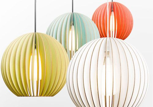 Eco-Chic Lighting to Buy or DIY | Wood pendant light, Wooden .