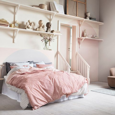 12 pink and grey bedroom ideas - pink and grey bedroom colour dec