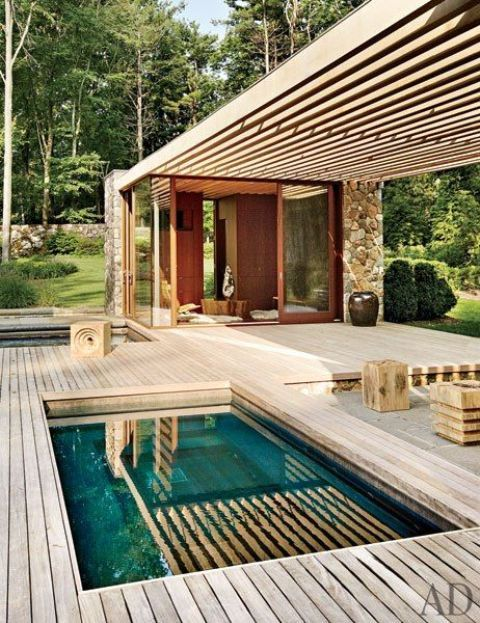 28 Cool Plunge Swimming Pools For Outdoors   Pool houses, Small .