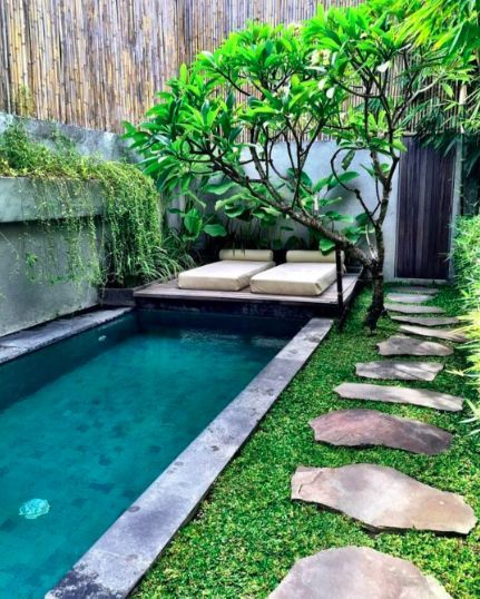 Plunge Pool Inspiration - Chic Small Swimming Pools Ideas   Small .