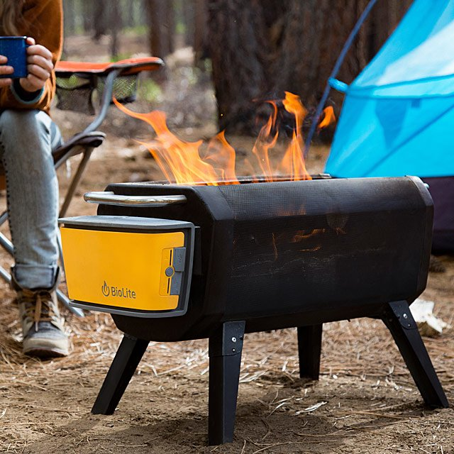 Smokeless Portable Fire Pit and Grill | Unique BBQ Gifts; Grilling .