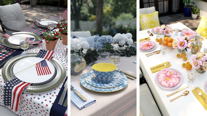 3 Stylish and Festive Tablescap