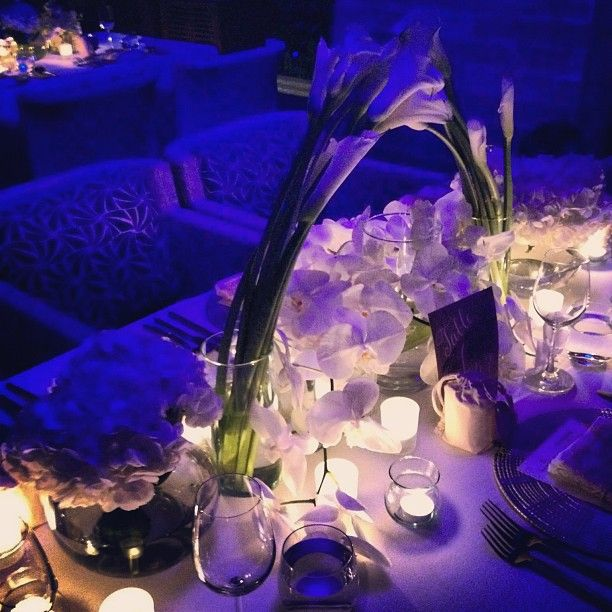 Glowing tablescapes light the night at @Four Seasons Resort Koh .