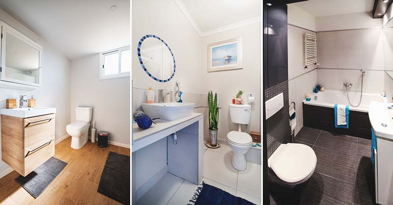 50 Chic and Practical Small Bathroom Ide