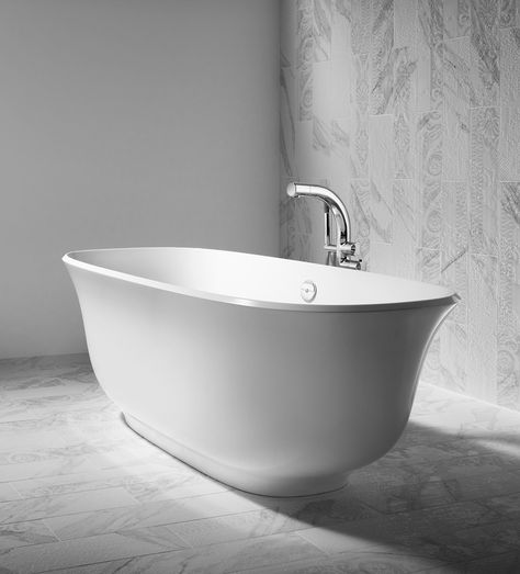 Timeless Tubs from Victoria + Albert   Shower fixtures .