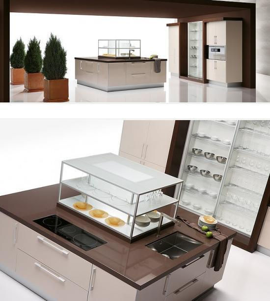 Quatro Gloss – Large Kitchen with Smart Storage Solutions | Latest .