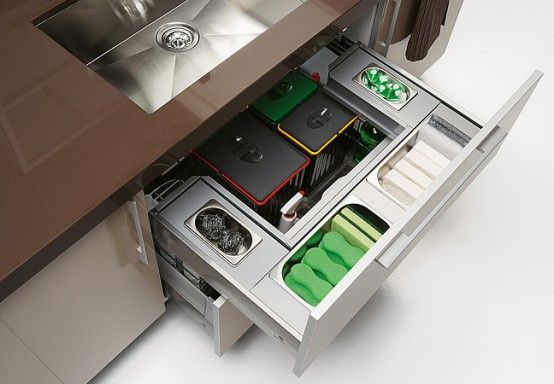 Quatro Gloss – Large Kitchen with Smart Storage Solutions | Home .
