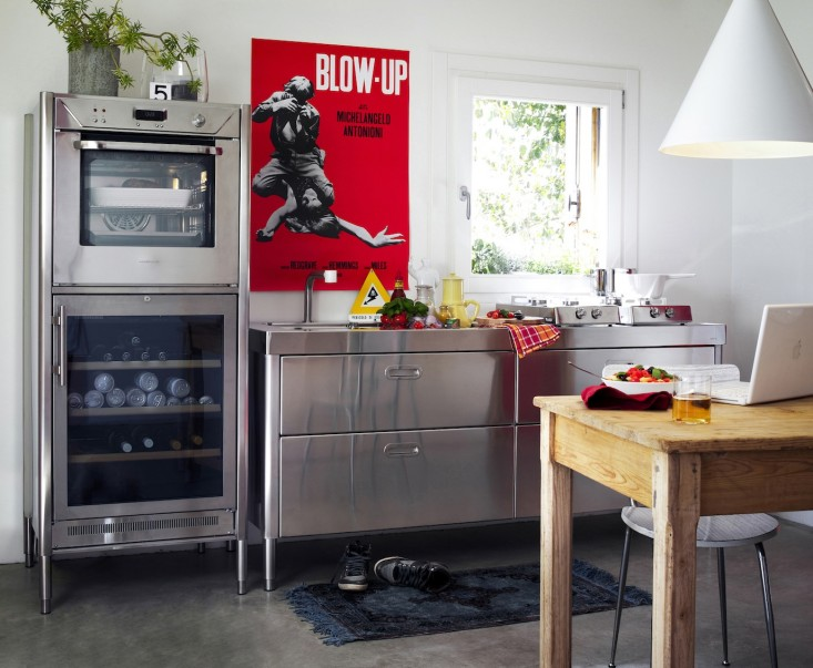 Race-Car-Style Appliances for Compact Kitchens - Remodelis