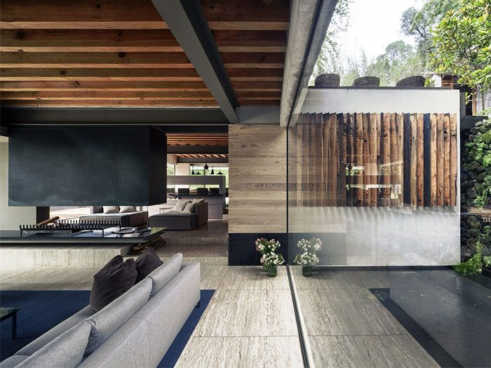 Raw Concrete House in Mexico by CHK arquitectura   Architecture .