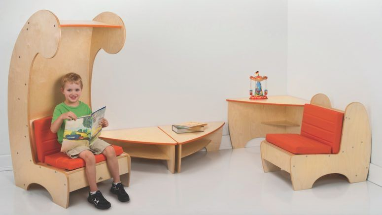 Contemporary Reading Chair Bookcase For Kids | Reading chair, Kids .