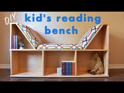 How To Build a Kid's Reading Nook W/ No Sew Cushions - YouTu