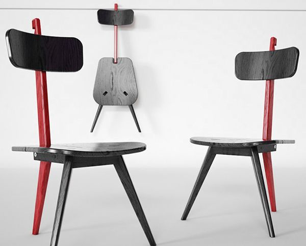 Sedia3 is a 2013 Red Dot Product Design winner for its simplistic .