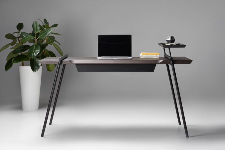 Modern And Sophisticated DUOO Writing Desk - DigsDi