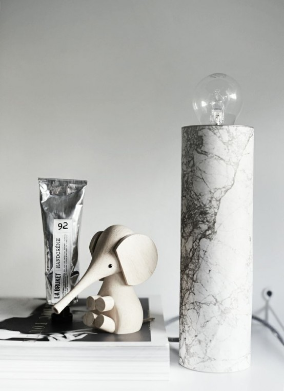 30 Refined Marble Furniture Pieces And Décor Objects For Any Home .