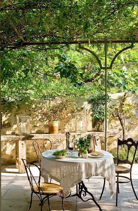 34 Refined Provence-Inspired Terrace Décor Ideas | DigsDigs .