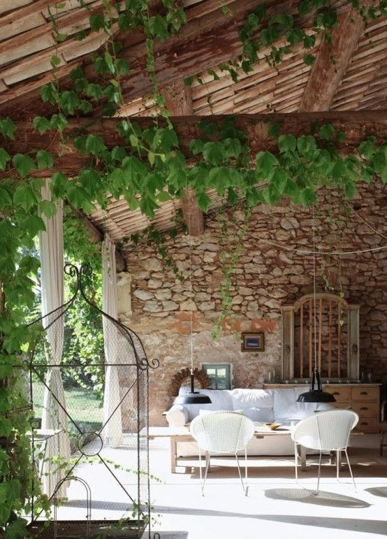 34 Refined Provence-Inspired Terrace Décor Ideas | My french .