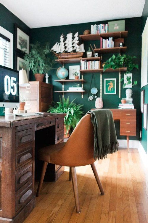 25 Ways To Refresh Your Home Office On A Budget - DigsDi