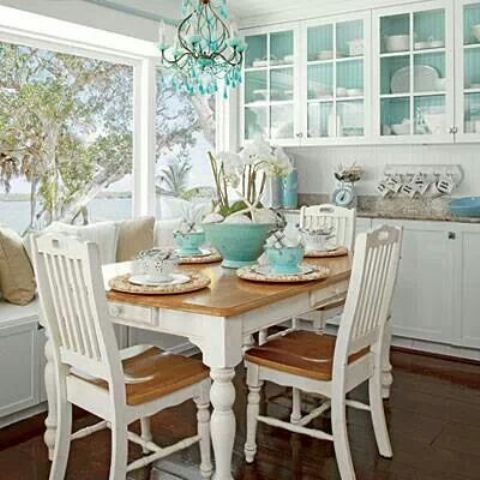 26 Relaxing Coastal Dining Rooms And Zones - DigsDi