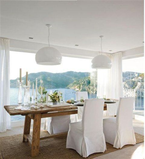 Relaxing Coastal Dining Rooms And Zones   Coastal dining room .