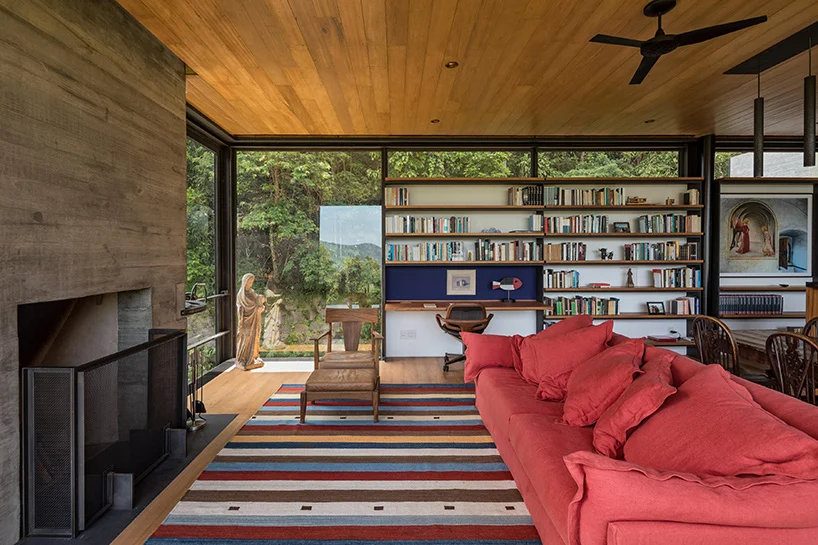 olson kundig's rio house in brazil is a remote rainforest retreat .