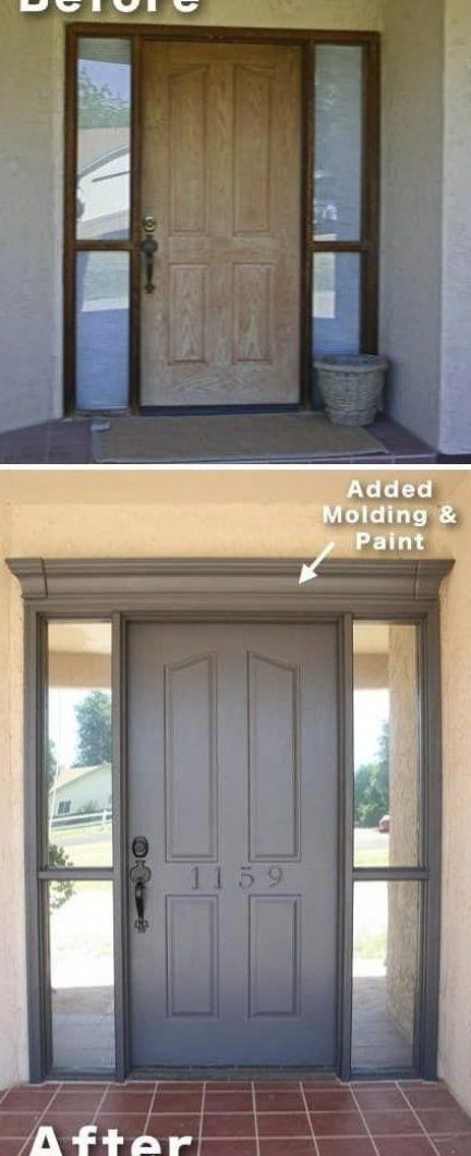 how to update your front door and entryway for cheap - I love .