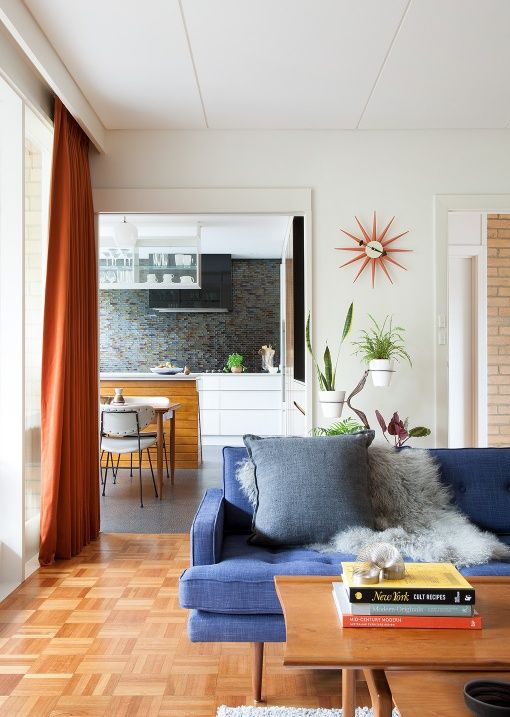 A Lovingly Restored 1960s 'Sibbel House' in Melbourne's North East .