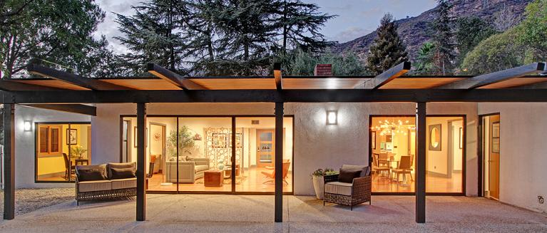 Before and After Photos: Midcentury Modern Home Remodel | Milgard .