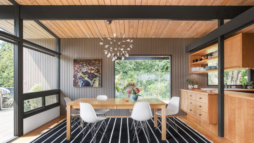 Mid-century home in Seattle undergoes sensitive restoration by SH