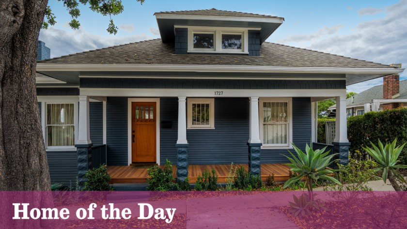 Home of the Day: A restored Craftsman in Santa Barbara's Upper .