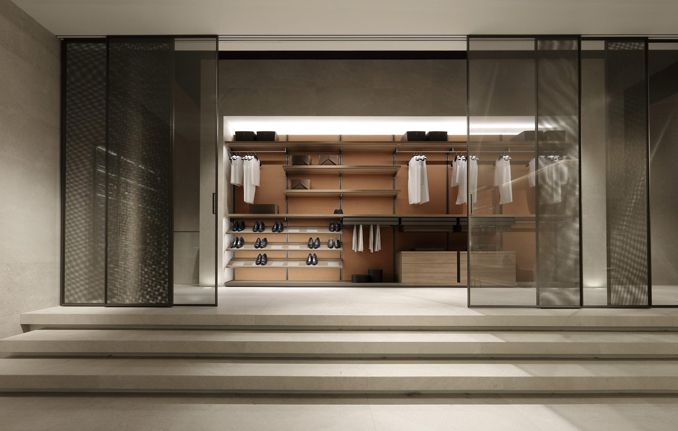 Rimadesio: sliding systems, living area, complements, doors, walk .