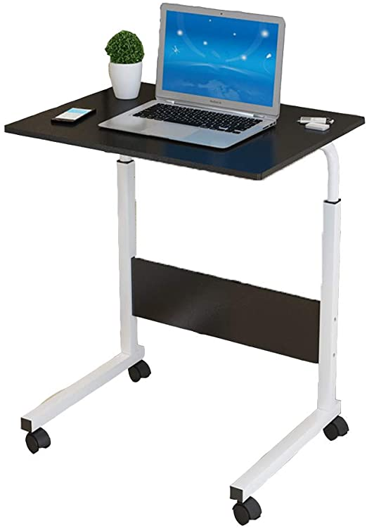 Amazon.com: TY-ZWJ Laptop Table with Wheels, Simple Side Table .