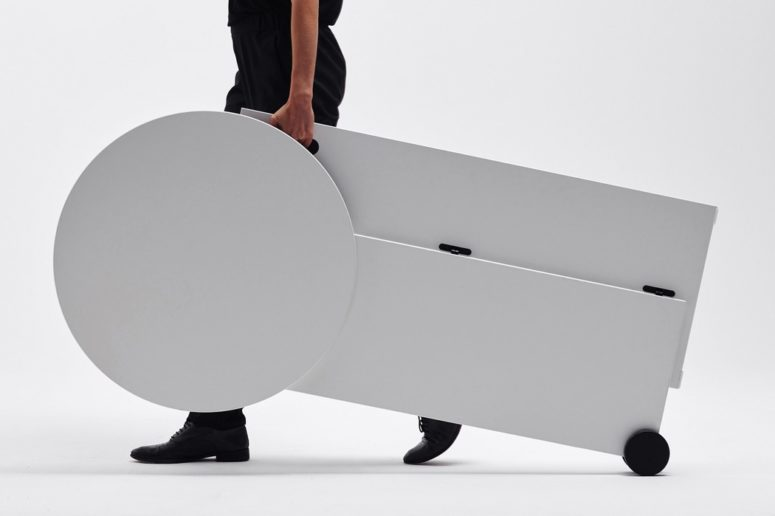 TEMP Rollable Desk For Changing Workspaces - DigsDi