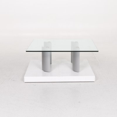Glass Coffee Table with Rollable Function from Ronald Schmitt for .
